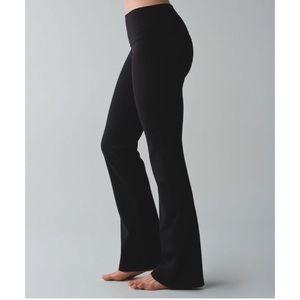 Lululemon Groove Flare Yoga Pants Size 10 EUC